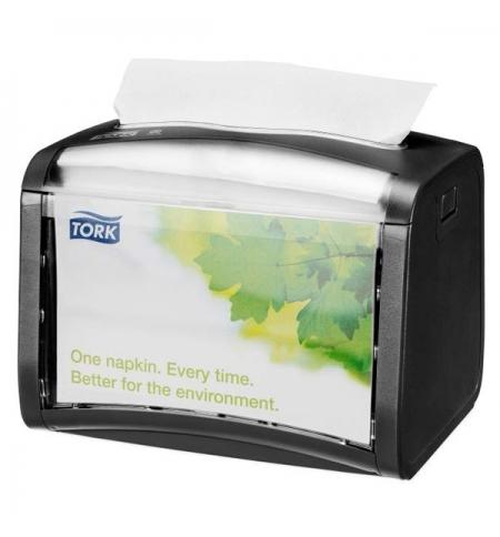 фото: Диспенсер для салфеток Tork Xpressnap N4 272611 настольный, на 200шт, черный