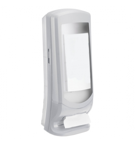фото: Диспенсер для салфеток Tork Xpressnap N4 272213, настольный, на 1100шт, серый