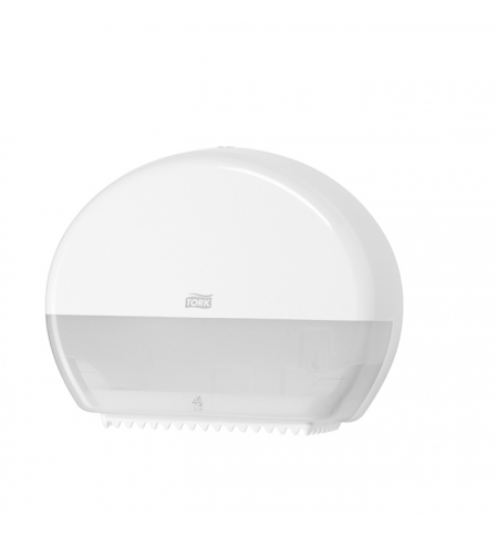 фото: Диспенсер для туалетной бумаги в рулонах Tork Elevation T2 555000, мини, белый