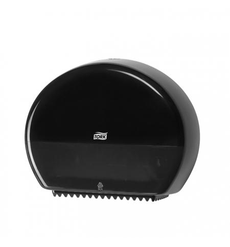 фото: Диспенсер для туалетной бумаги в рулонах Tork Elevation T2 555008, мини, черный