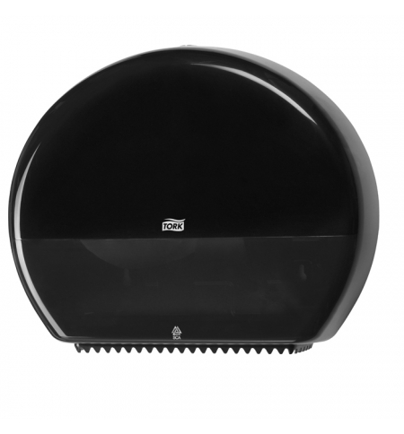 фото: Диспенсер для туалетной бумаги в рулонах Tork Elevation T1 554008, чёрный