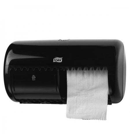фото: Диспенсер для туалетной бумаги в рулонах Tork Elevation T4 557008, черный