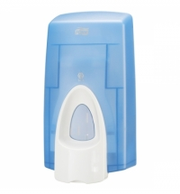 фото: Диспенсер для мыла в картриджах Tork Wave S34 470210, синий