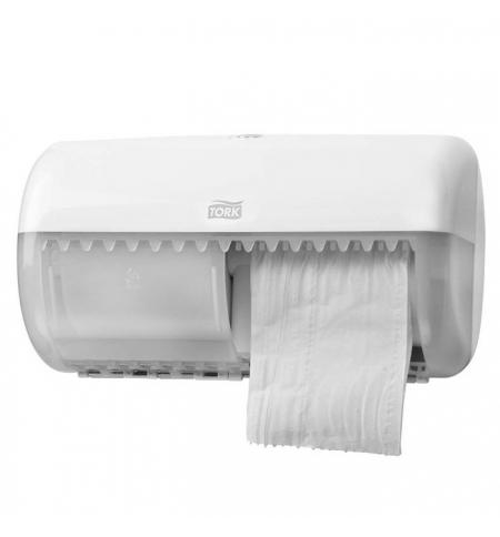 фото: Диспенсер для туалетной бумаги в рулонах Tork Elevation T4 557000, белый