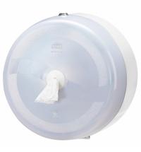 Диспенсер для туалетной бумаги в рулонах Tork Wave T8 472022, с центральной вытяжкой, белый