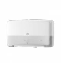 Диспенсер для туалетной бумаги в рулонах Tork Elevation T2 555500, мини, белый