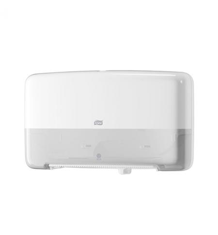 фото: Диспенсер для туалетной бумаги в рулонах Tork Elevation T2 555500, мини, белый