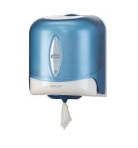 фото: Диспенсер для полотенец с центральной вытяжкой Tork Reflex M4 473133, синий