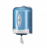 Диспенсер для полотенец с центральной вытяжкой Tork Reflex M3 473137, мини, голубой