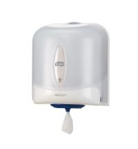Диспенсер для полотенец с центральной вытяжкой Tork Refleх M4 473140, белый
