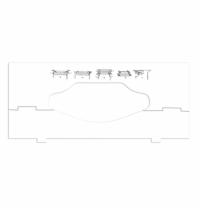Вставка в диспенсер для листовых полотенец Tork 202829-00, зигзаг