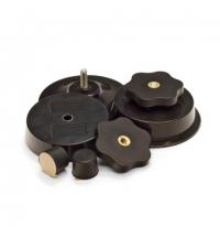 Крепление настенное для диспенсера Tork Performance W4 206530, присоски пластиковые, d 60 мм, 10шт, черные