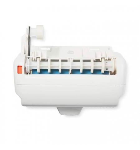 фото: Кассета для диспенсера Tork H1 с индикатором расхода рулона, 205530-00, белая