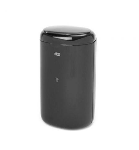 фото: Ведро для мусора Tork Elevation B3 564008, с крышкой, 5л, черное