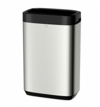Контейнер для мусора Tork Image Design B1 460011, 50л, матовый металлик