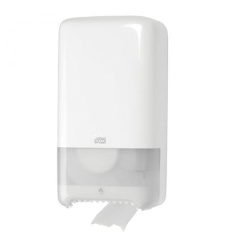 фото: Диспенсер для туалетной бумаги в рулонах Tork Elevation T6 557500, миди, белый