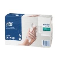 фото: Бумажные полотенца Tork Universal H2 471117, листовые, 190шт, 2 слоя, белые