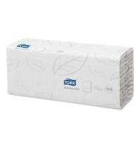 фото: Бумажные полотенца Tork Advanced H3 290264, листовые, 120шт, 2 слоя, белые