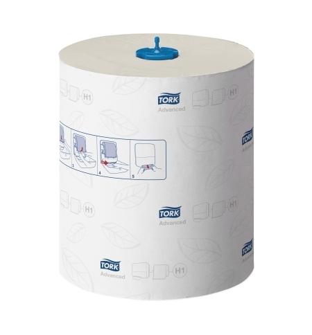 фото: Бумажные полотенца Tork Advanced H1 120067, в рулоне, 150м, 2 слоя, белые