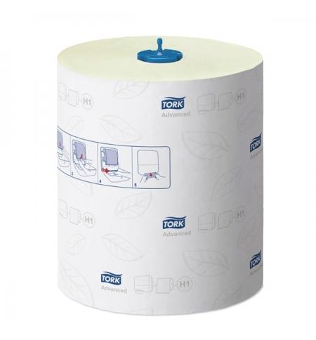 фото: Бумажные полотенца Tork Advanced H1 290076, в рулоне, 150м, 2 слоя, зеленые