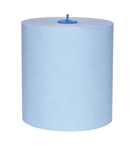 фото: Бумажные полотенца Tork Advanced H1 290068, в рулоне, 150м, 2 слоя, синие
