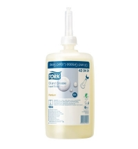 Жидкое мыло в картридже Tork Premium S1 420401, для рук, от жировых и технических загрязнений, 1л