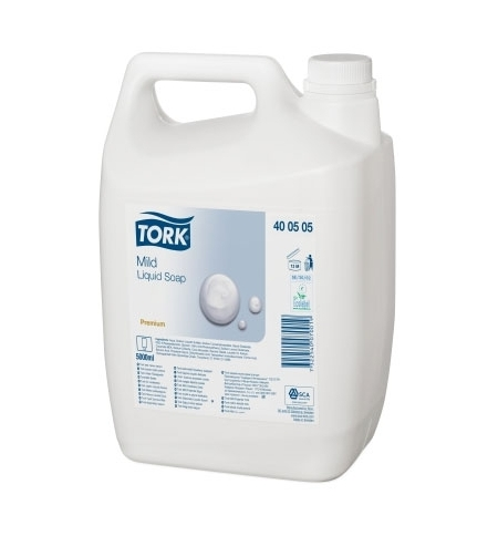 фото: Жидкое мыло наливное Tork Premium 400505, белое, 5л