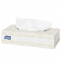 Косметические салфетки Tork Premium F1 120380, для лица, 100шт, 2 слоя, белые