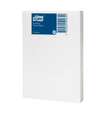 фото: Гигиенические пакеты Tork B5 204041, 25шт, белые