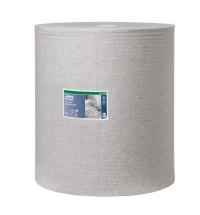 фото: Протирочный материал Tork Premium W1 520304, для масла и жира, в рулоне, 361м, 1 слой, серый