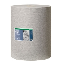 Протирочный материал Tork Premium W1/W2/W3 520337, для масла и жира, в рулоне, 148м, 1 слой, серый
