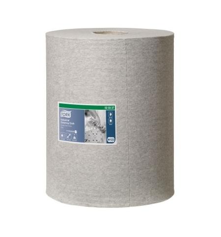 фото: Протирочный материал Tork Premium W1/W2/W3 520337, для масла и жира, в рулоне, 148м, 1 слой, серый