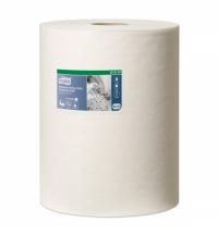 Протирочный материал Tork Premium W1/W2/W3 570137, суперпрочный, в рулоне, 60.8м, 1 слой, белый