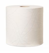 Протирочная бумага Tork Plus W1/W2/W3 130042, в рулоне, 221м, 2 слоя, белая