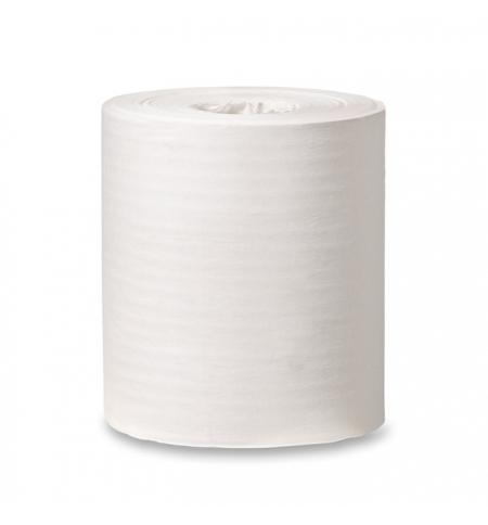 фото: Протирочная бумага Tork базовая M2 120166, в рулоне с центральной вытяжкой, 275м, 1 слой, белая