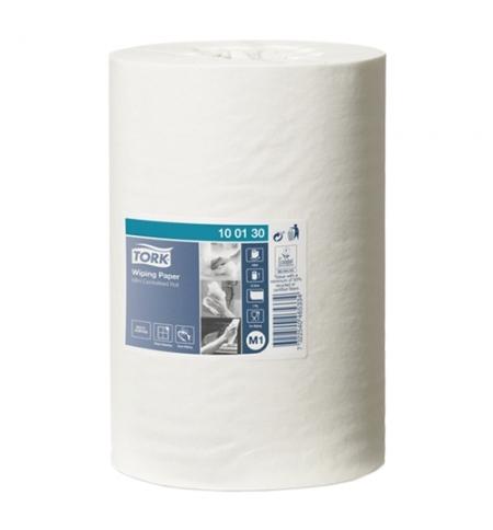 фото: Протирочная бумага Tork Advanced M1 100130, в рулоне с центральной вытяжкой, 120м, 1 слой, белая
