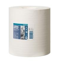 Протирочная бумага Tork Premium M2 130034, в рулоне с центральной вытяжкой, 165м, 1 слой, белая