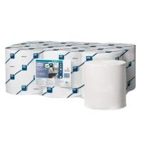 Протирочная бумага Tork Reflex M4 473468, в рулоне с центральной вытяжкой, 151м, 2 слоя, белая
