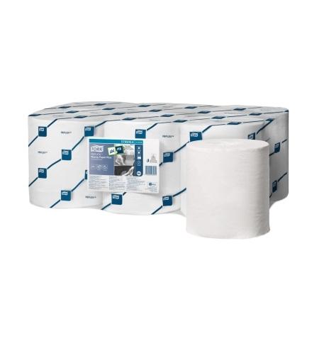 фото: Протирочная бумага Tork Reflex M4 473468, в рулоне с центральной вытяжкой, 151м, 2 слоя, белая