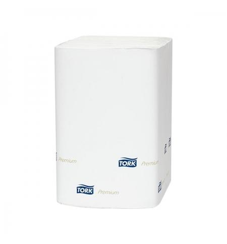 фото: Диспенсерные салфетки Tork Premium N4 15850, 2 слоя, 200шт, белые