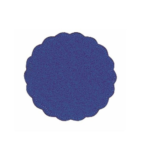 фото: Подкладка под чашку Tork Advanced темно-синяя d 9см, 8 слоев, 250шт, 474468