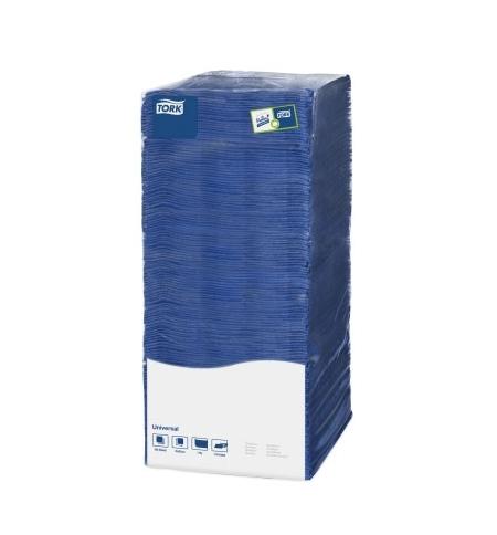 фото: Салфетки сервировочные Tork Universal синие 25х25см, 1 слой, 500шт, 478667