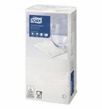 Салфетки сервировочные Tork Universal белые 24х24см, 1 слой, 200шт, 10130