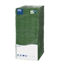 Салфетки сервировочные Tork Universal зеленые 25х25см, 1 слой, 500шт, 478659