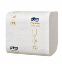 фото: Туалетная бумага Tork Premium T3 114276, 252 листов, 2 слоя, белая