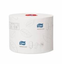 Туалетная бумага Tork Advanced T6 127530, в рулоне, 100м, 2 слоя, белая
