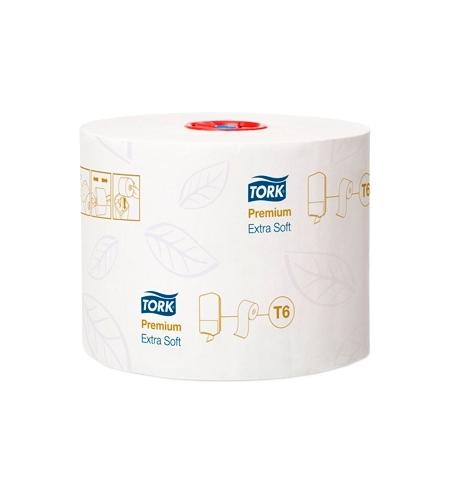 фото: Туалетная бумага Tork Premium T6 127510, в рулоне, 70м, 3 слоя, белая