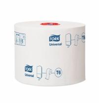 Туалетная бумага Tork Universal T6 127540, в рулоне, 135м, 1 слой, белая