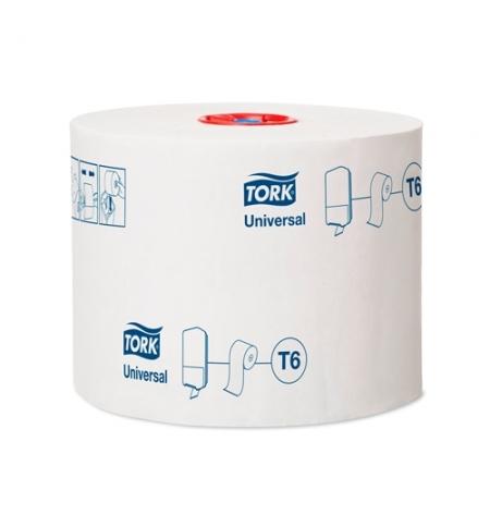 фото: Туалетная бумага Tork Universal T6 127540, в рулоне, 135м, 1 слой, белая