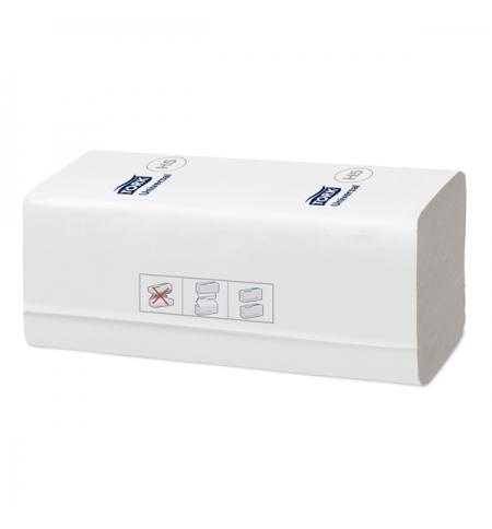 фото: Бумажные полотенца Tork PeakServe 100585 листовые, 410шт, 1 слой, белые
